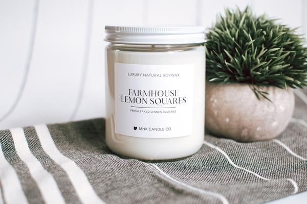 Natural Soy Wax Luxurious Candle